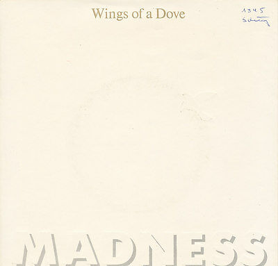 "7"" - Madnees - Wings Of Dove / Behind The 8 Ball - Stiff 613929 - De 1983"