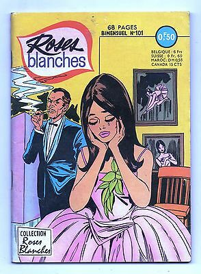 ROSES BLANCHES n°101 - Editions Aredit 1968. TBE