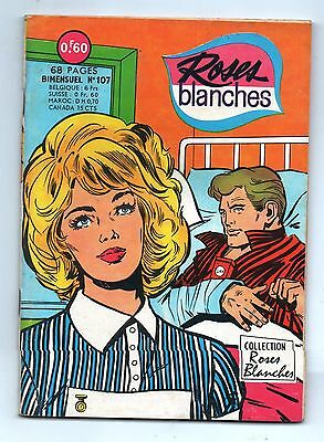 ROSES BLANCHES n°107 - Editions Aredit 1968. TBE