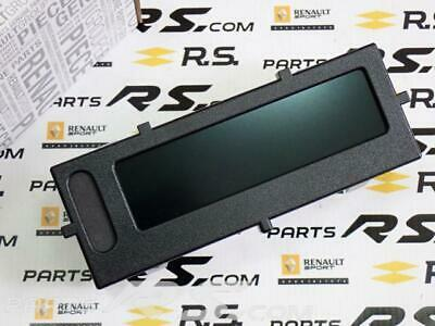 New GENUINE Clio III 3 200 197 RS Monitor RENAULT SPORT lcd cockpit dash display