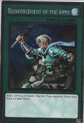 Yu-Gi-Oh: Platinum Rare - Reinforcement Of The Army - Nkrt-En026 Limited Edition