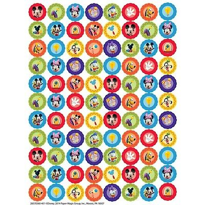 704 Mickey Mouse Clubhouse Gears Mini Stickers