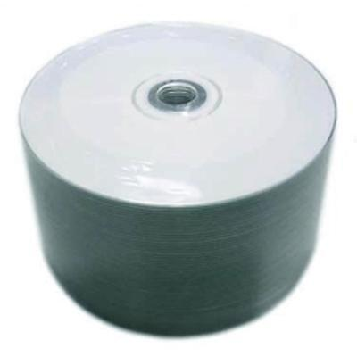 100 pcs 52X White Inkjet HUB Printable Blank CD-R Recordable Disc Media 700MB