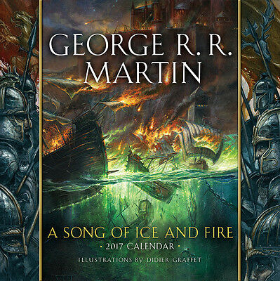US Wandkalender A Song of Ice and Fire 2017 Calendar