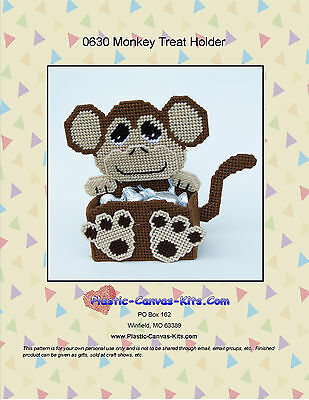 Sea Turtle Treat Holder-Plastic Canvas Pattern or Kit