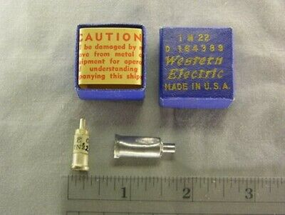 Scarce Western Electric 1N22 Point Contact Diode