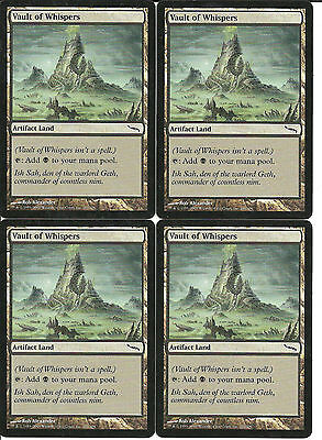 mtg Magic 4x Vault of Whispers ( Boveda de los susurros ) English GOOD