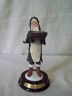 Duncan Royale History of Santa Claus WASSAIL Figurine Stand and Box