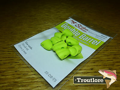 Flymen Yellow Small Surface Seducer Foam Popper #6 - New Fly Tying Materials