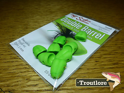 Flymen Green Small Surface Seducer Foam Popper #6 - New Fly Tying Materials