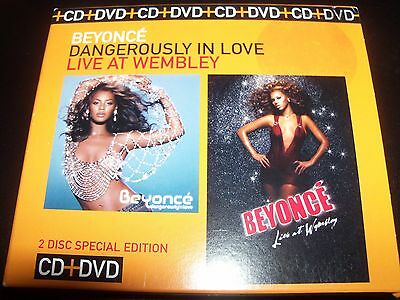 Beyonce Dangerously In Love CD / Live At Wembley DVD Australian Limited Set