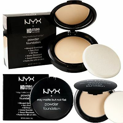 NYX Stay Matte But Not Flat Powder Foundation Choose from Shades -SMP- NIP.