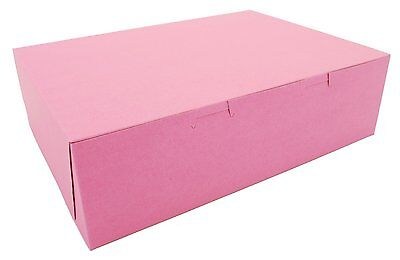 Southern Champion Tray 0890 Pink Paperboard  Lock-Corner Bakery Box, Case Of 100