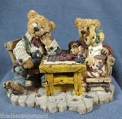 Boyds Bearstone Grenville Matthew Baily Sunday Afternoon #2281 1994 Retired