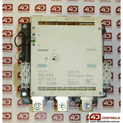 Siemens 3TF6844-0CP7 Contactor size 14, 3-pole ac-3, 335kw, 400/380v - Used