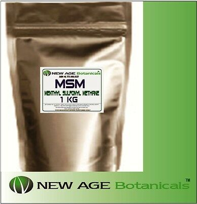 MSM -  High Quality - 99.9% Pure - 1KG - Pharmaceutical Grade