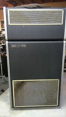 Leslie Amp Model 910: 2-Part Speaker Cabinet c/w 2 cables and Preamp