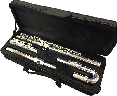 Axiom Beginners Flute - Student Flute with Straight & Curved Heads - School