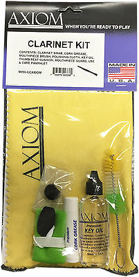 Axiom Clarinet Maintenance Kit - Cleaning Kit  Made in USA