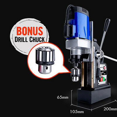 240V Commercial Magnetic Drill Electric Electro-Mag Chuck Power High Quality