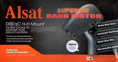 Superior Dark Motor All Metal DiSEqC USALS - Brand New
