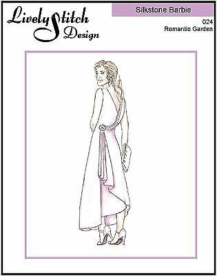 Romantic Garden / sewing pattern for the Silkstone Barbie doll