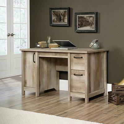 Sauder Cannery Bridge Computer Desk in Lintel Oak finish, 418326 New