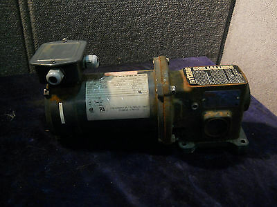 Tek Variable Speed 90Dc 1/3 Hp Motor D040 W/ Tigear Worm Gear Mr5S105L1