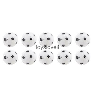 10 Football Soccer Ball 1/12 DollHouse Miniature Indoor & Outdoor Decoration