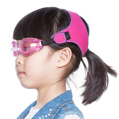 Unisex Swimming Goggles with Soft Adjustable Strap for Kids by TFY