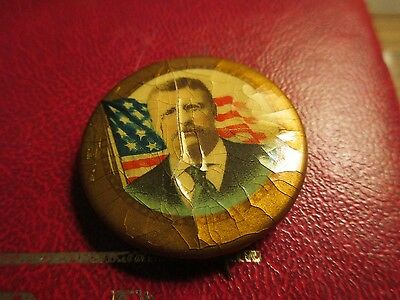Political Pins Theodore Roosevelt Pin