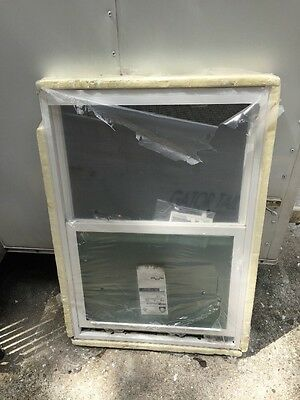Frosted Window Double Glass Insulated 25.5 X 37.5""