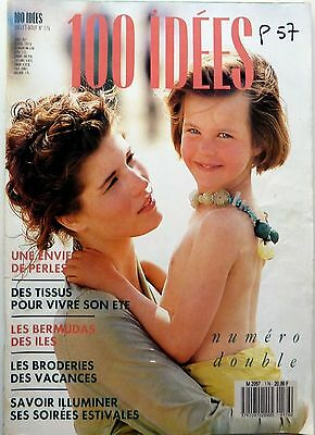 Magazine 100 IDEES (Juillet Aout 1988)
