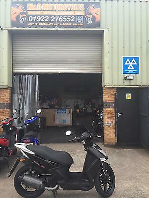 Kymco Agility 125cc scooter. Top condition 12 months mot 3 months warranty