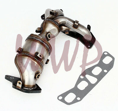 Exhaust Catalytic Converter Headers Manifold For 07-13 Nissan Altima 2.5L 4-Cyl