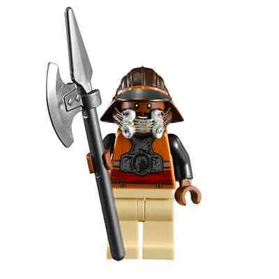 Lego Star Wars Minifigure Lando Calrissian Skiff Guard Disguise Weapon 9496