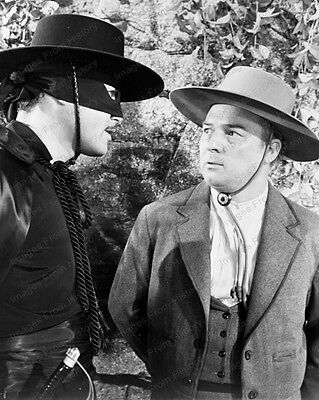 8x10 Print Guy Williams Zorro 1950 #2016251