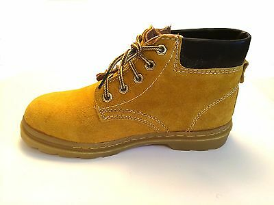 A6 New Men's Leather High Top Work Boots Size 6-10