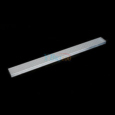 1x Aluminum Heatsink 300mm*25mm*10mm for Led Emitter Diodes High Power
