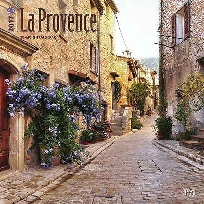 La Provence 2017 Wall Calendar NEW by Browntrout