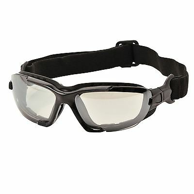 Portwest Levo Safety Spectacle Glasses EN166 Safety Workwear PW11