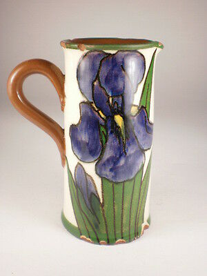 Torquay Ware Floral Creamer (Chips)