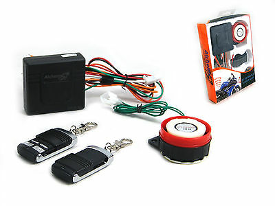 Easy Install 12V Compact Motorbike Motorcycle Scooter Moped Quad Security Alarm