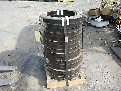 """Steel Strapping / Banding 2"""" Wide-High Tensile Lot of 16 Coils"""