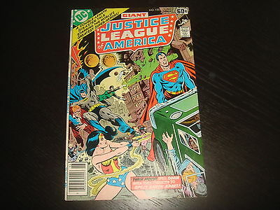 JUSTICE LEAGUE OF AMERICA #155  Bronze Age Giant DC Comics 1978 VF