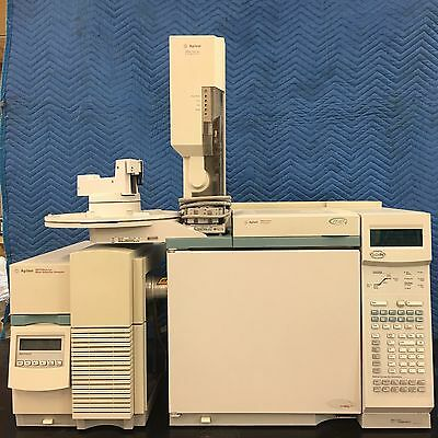 6890 Gas Chromatograph 5973N Mass Selective Detector and 7683 Autosampler