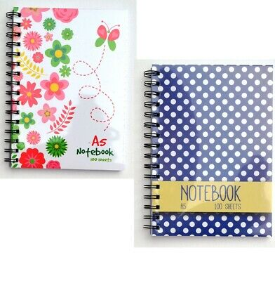 A5 SPIRAL PROJECT NOTE BOOK LINED 120 PAGES  SCHOOL STATIONERY Notebook