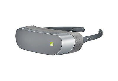 LG 360 Virtual Reality Headset For LG G5 Smartphone, Compact & Portable - Silver