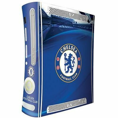 Chelsea Xbox 360 Console Skin Blue New Official Licensed Football Club