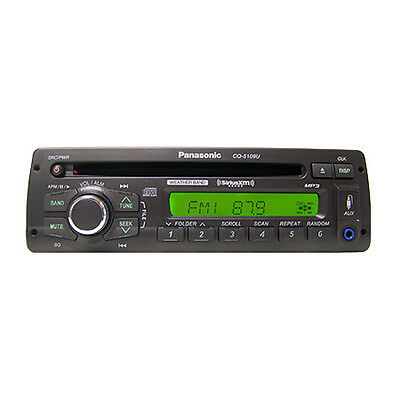 1 cq5109u panasonic am fm cd wide band radio for freightliner 1 cq5109u panasonic am fm cd wide band radio for freightliner